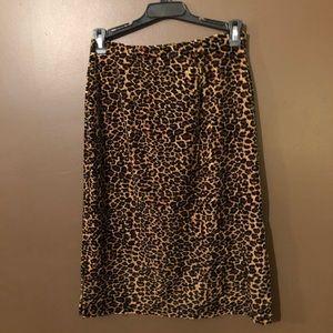 Forever 21 Skirts - Vintage Forever 21 Leopard Set